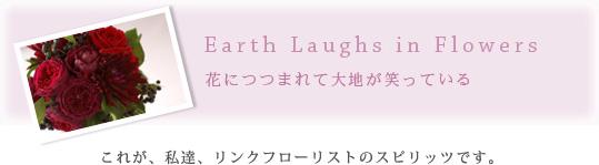 Earth Laughs in Flowers 花につつまれて大地が笑っている